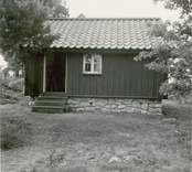 Gamleby hembygdsförening. Hembygdsgården enkelstuga.