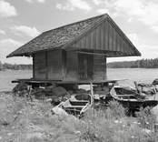K.A. Johanssons bod. Foto: 22/07 1948.