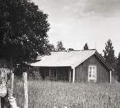 Målare Berggrens stuga i Sjöhorvan.