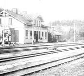 Järnvägsstation i Gamleby.