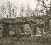 Ukna kyrkoruin restaurerad 1977.