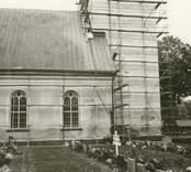 Norra fasaden.