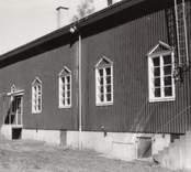 Småland Blackstad socken Blackstads bygdegård  Foto: Ebbe Westergren, september 1984