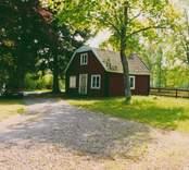 Gamla mejeriet på Hägerums gård.