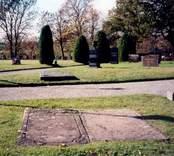 Gladhammars kyrkogård.