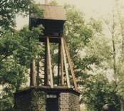Klockstapeln vid Ankarsrums kyrka.