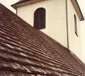 Tornet på Hjorteds kyrka.
