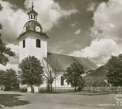 Vykort med motiv av Misterhults kyrka.
