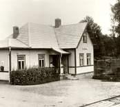 Fagerhults socken. Björkdals järnvägsstation år 1927. Ur Bergströms samling. Okänd 0152.