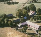 Ett jordbruk i Sankt Sigfrid socken.