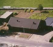 Bostadshus med garage i Kristvalla socken.
