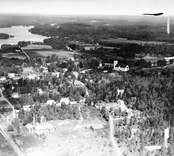 Flygbild över Fagerhult.