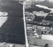Flygfoto över Lindby.