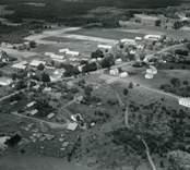 Flygfoto över Döderhult.