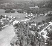 Flygfoto över Ukna.