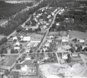 Flygfoto över Jenny i Västervik.