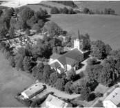 Flygfoto över Västra Ed.