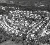 Flygfoto över Brukshagen i Överum.