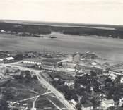 Flygfoto över Västervik.