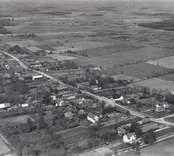flygfoto över Gärdslösa, Öland 1935.