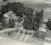 Flygfoto över Fredriksbergs herrgård.