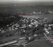Flygfoto över Gamleby.