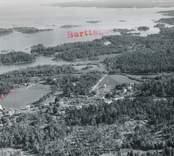 Flygfoto över Virbo.