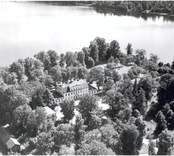 Flygfoto över Stensnäs.
