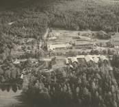 Pukeberg. flygfoto år 1933.