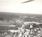 Flygfoto över Kristdala.