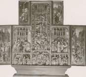 Ett altarskåp.