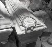Gravar framkomna vid kyrkans restaurering i Kråksmåla.