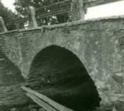 En valvbro i Bägby.