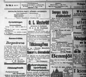 Detalj från annonssida 1-5-1906.
