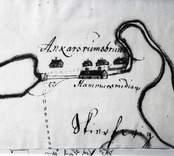 Karta över Ankarsrums bruk.