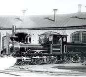 Nybro - Sävsjöström JVG. Foto - 1910 i Kalmar.