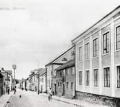 Storgatan i Västervik omkring 1900.
