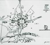 Karta över Lunds by.
