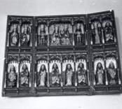 Altarskåp från Hjorteds kyrka.
