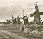 Ölands största bevarade kvarnrad finns i Störlinge.  Dessa kvarnar har ofta varit föremål för reparation och underhåll.