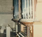 Orgeln i Hallingebergs kyrka.