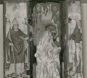 Triptyk med den heliga Birgitta från Kråksmåla kyrka.