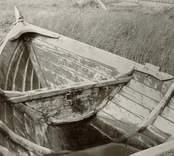 Edvin Wiströms storbåt från aktern till fören.