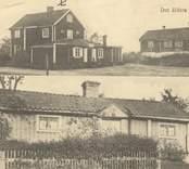 """Det äldsta Figeholm Hammars gård (""""Vita hästen"""")."""