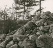 Misterhult sn Botestorp  Röse, undersökt 1956 gm. G. Ekelund o. KG. Petersson.