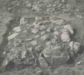 Fyrsidig fylld stensättning i Vinäs.