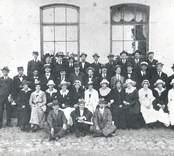 Kalmar socialdemokratiska ungdomsklubb 1916.