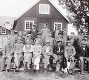 Bobinfabriken, gruppbild arbetare.