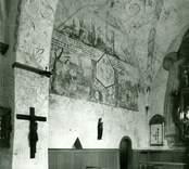 Interiör av koret i Gärdslösa kyrka.