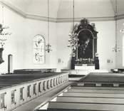 Interiör av Kristdala kyrka.